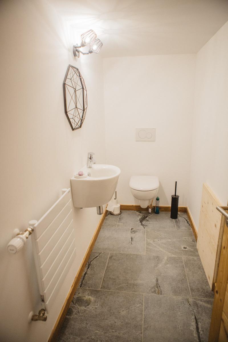 Toilettes de la suite parentale